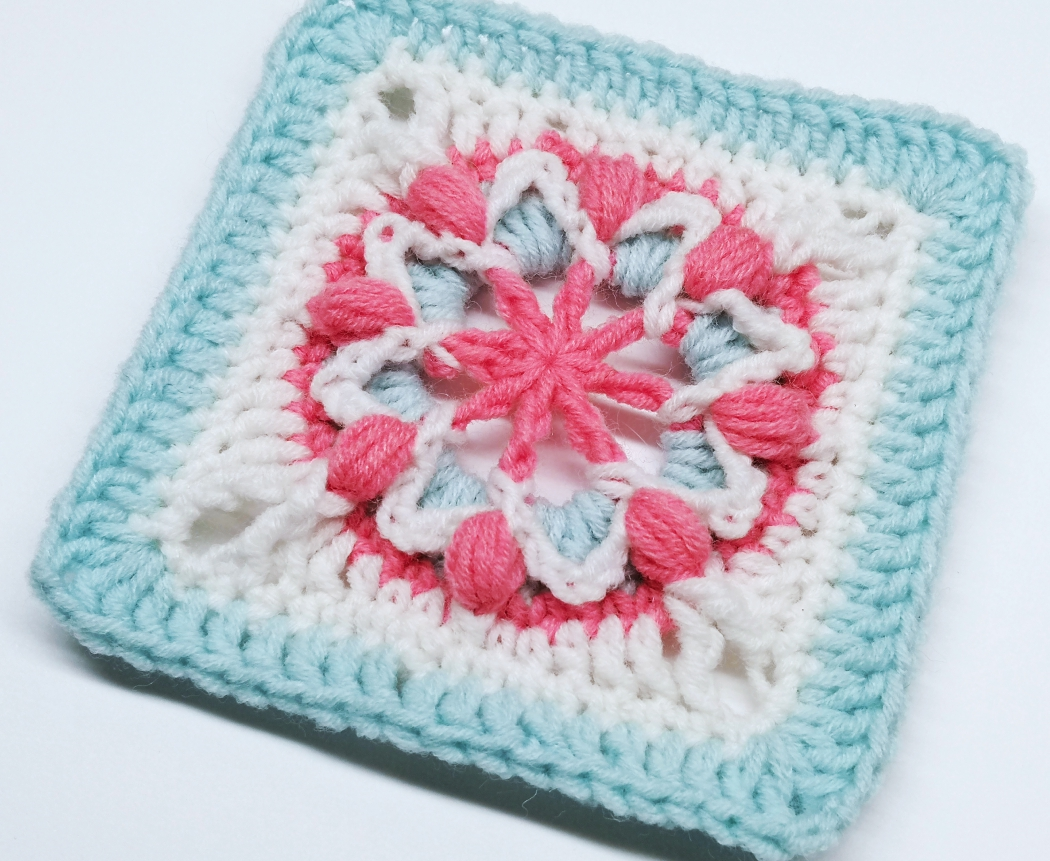 You are currently viewing Crochet granny square pattern / Crochet Motif #70