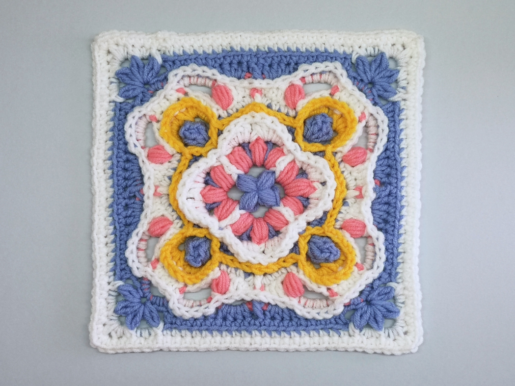 You are currently viewing Crochet Afghan Block / Crochet Motif #83