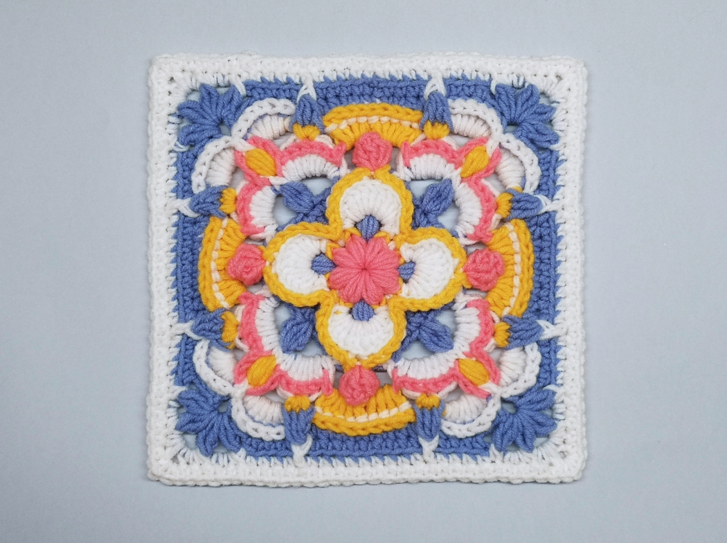 Read more about the article Crochet Afghan Block / Crochet Motif #81