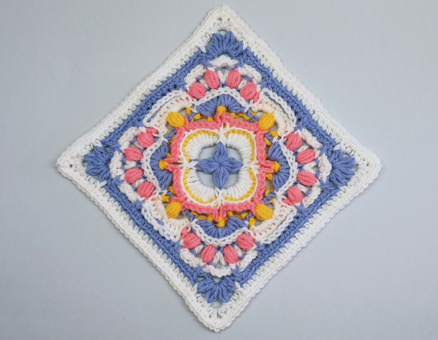 Read more about the article Crochet Afghan Block / Crochet Motif #85