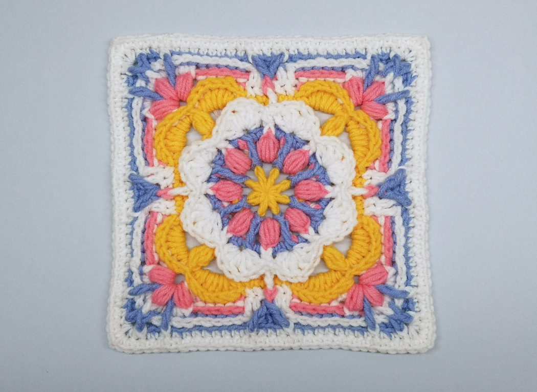 Read more about the article Crochet Afghan Block / Crochet Motif #84