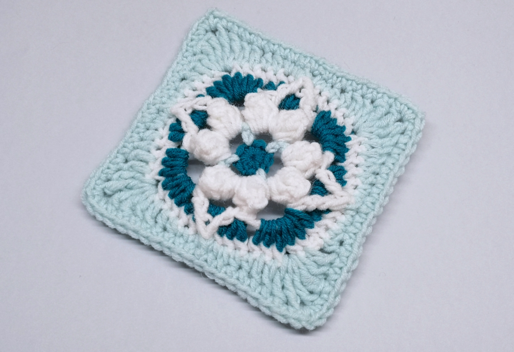 You are currently viewing Crochet granny square pattern / Crochet Motif #50